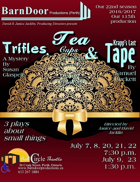 Trifles, Tea & Tape - July